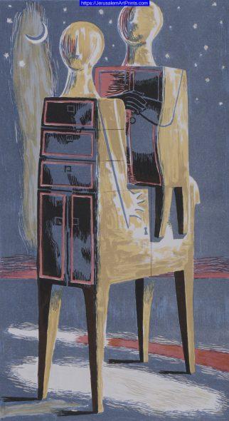 Furniture Centaur and Man by Azriel Awret