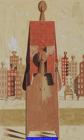 Upwards by Azriel Awret