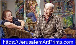 Fine art jerusalem
