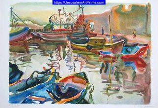 Akko harbor - Acre harbor